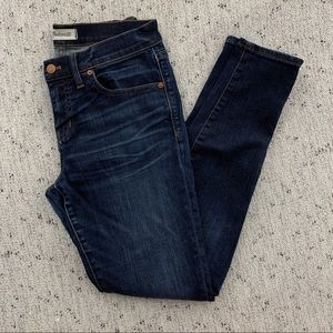 "Madewell 8"" Skinny Jean"